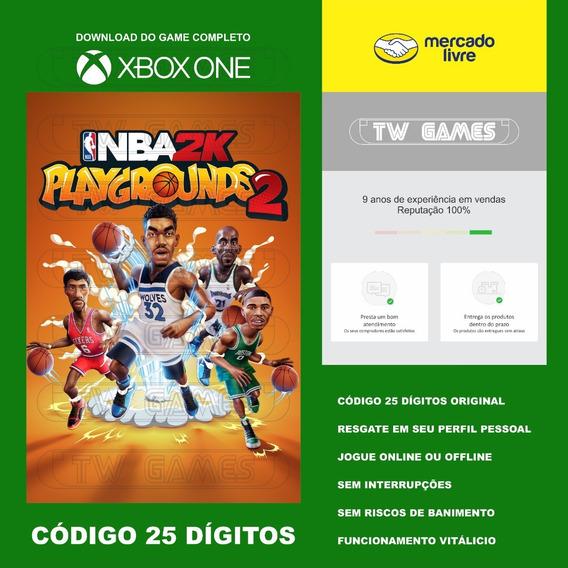 Nba 2k Playgrounds 2 Codigo 25 Digitos Xbox One Fat S X