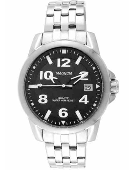 Relógio Masculino Magnum Ma33022t Prata