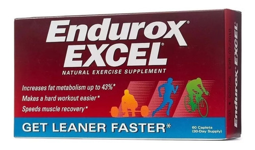 Endurox Excel 60caps Pacific Health Original Importado Eua