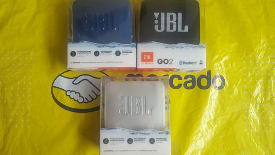 Caixa Bluetooth Jbl Go2 Prova D