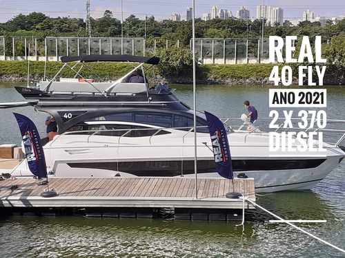 Lancha 40 Flay - Real Power Boat
