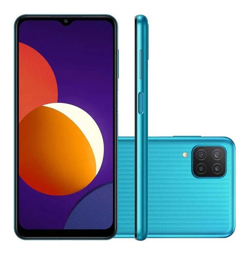 Smartphone Samsung Galaxy M12 4gb 4g Câmera Quádrupla 48mp