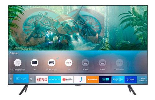 Tv Smart Crystal Uhd 4k 55 Tu8000 + Soporte Fijo A Pared Neg