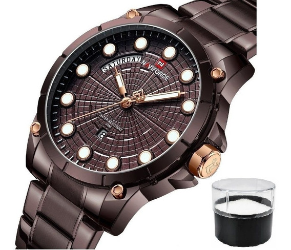 Relógio Naviforce 9152 Com Nota Fiscal