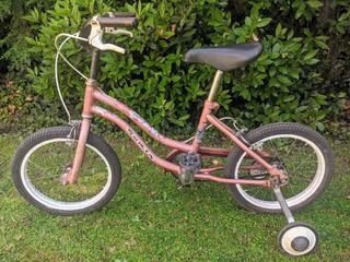 Bicicleta Niña O Niño Con Ruedas De Apoyo Rodado 16