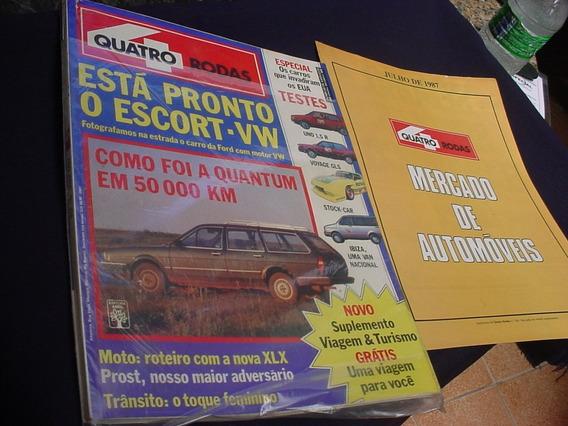 Revista 4 Rodas 324 Quantum 87 Uno 1.5r Voyage Gls Ibiz