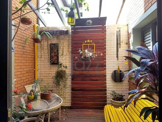 Lindo Sobrado No Bairro Jardim Guarani, Em Campinas - Ca4950