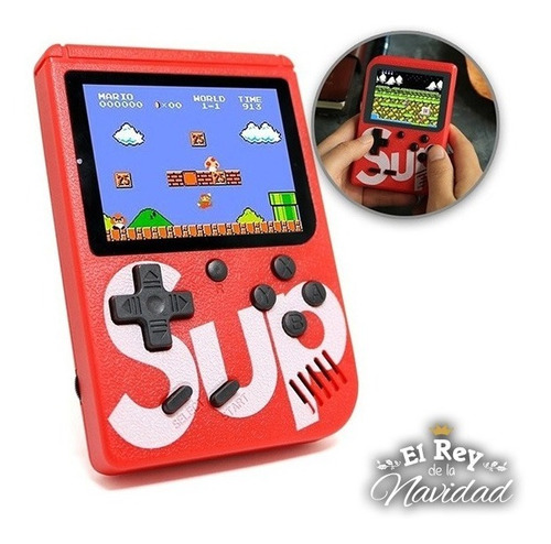 Mini Consola Video Juegos Retro Simil Nintendo Super Mario