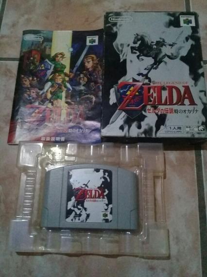 Levends Of Zelda Nintendo 64 Na Caixa Impecavel