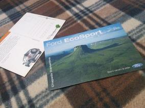 2 Cartões Postais Ford Ecosport - Frete Incluso