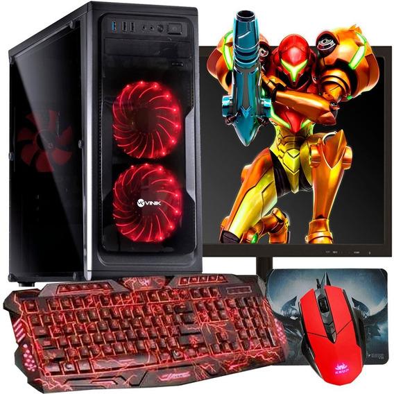 Pc Gamer Completo Athlon / Hd500gb / Radeon Vega 3 / Pubg