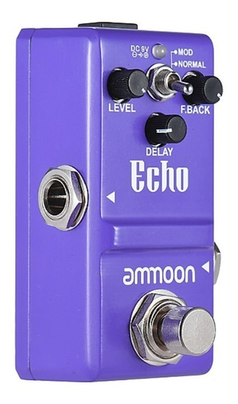 Pedal Echo Delay Ammoon Nano Mini