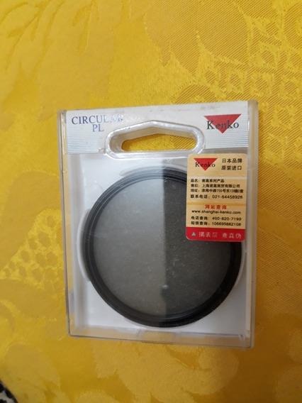 Filtro Kenko Polarizador 58mm Circular Pl