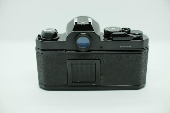 Nikon Fm Preta - Camera Analógica 35mm - Revisada