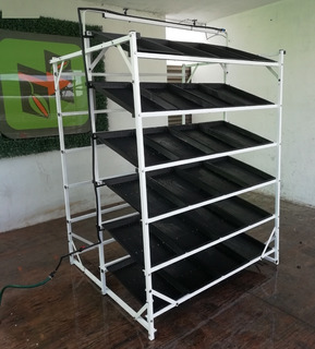 Sistema De Produccion De 100 Kg De Fvh De 96 Charolas