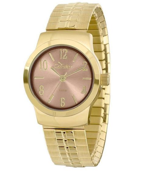 Relógio Condor Feminino Mini Dourado Co2035klz/4x Orig