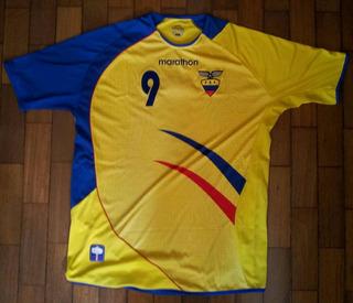 Camisa Da Final Futebol Pan Americano Sel. Equador (e. Zura)