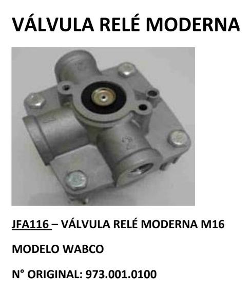 Valvula Relé Moderna M16 Modelo Wabco
