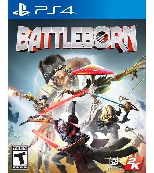 Battleborn Ps4 Mídia Física Novo Lacrado