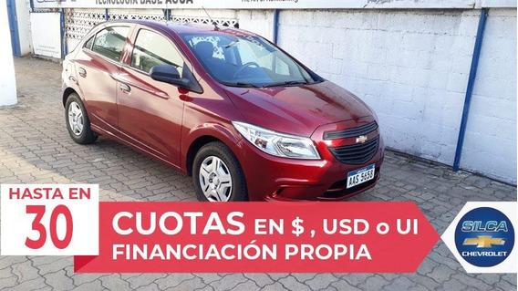 Chevrolet Onix Joy 2017 Bordeaux 5 Puertas