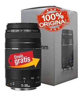 Lente Canon Profesional Ef 75-300mm F/4-5.6 Garantía 1 Año