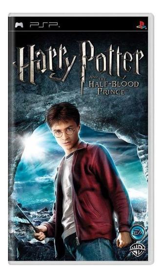 Harry Potter And The Halfblood Prince Psp Mídia Física