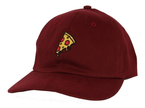 Boné Dad Hat Pizza Original Vinho Narina Aba Curva Com Nf