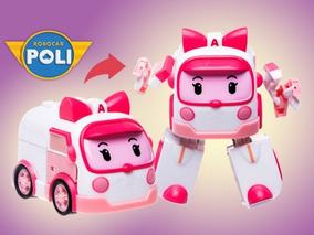 Miniatura Robocar Poli Amber Original Pronta Entrega