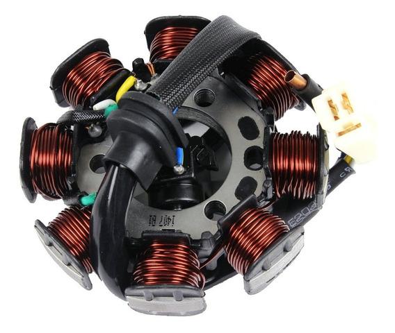 Estator Magneto Biz 100 Bobina De Pulso Honda