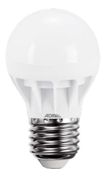 Foco Tipo Bulbo Econo Power 2938-b Luz Blanca 5w Adir