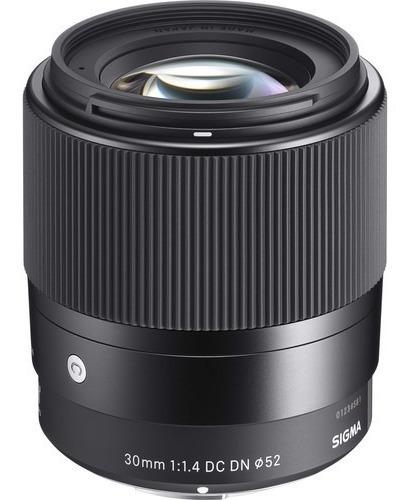 Lente Sigma 30mm F / 1.4 Dc Dn Para Sony E Mount