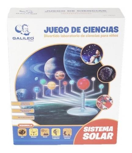 Imagen 1 de 7 de Juego De Ciencias Galileo Sistema Solar Celex Jc-003