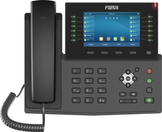 Teléfono Ip Fanvil X7 C, Bluetooth, Wifi, Video, No Yealink