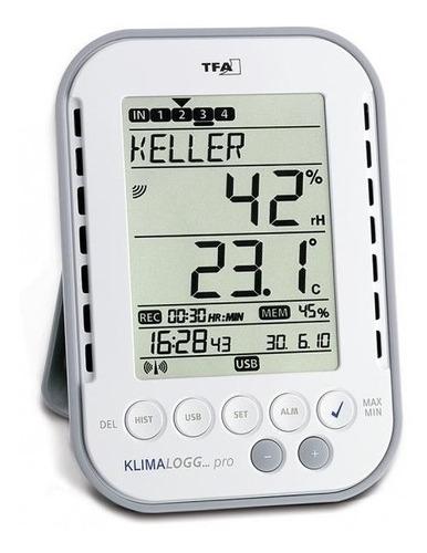 Imagem 1 de 1 de Termo-higrômetro Com Data Logger + Software Incoterm