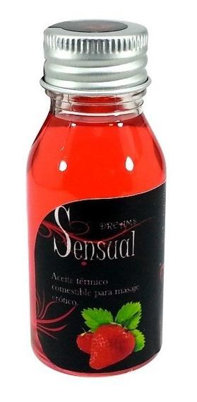 Aceite Para Masaje Sensual 120ml Comestible Lubricante
