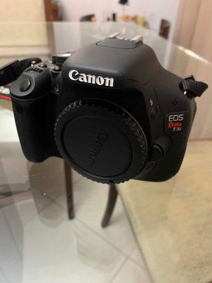 Câmera Canon Rebel Eos T3i + Lente Canon Efs 18-55 Mim