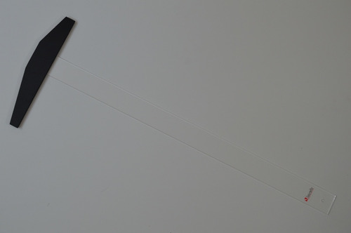 Imagen 1 de 4 de Regla T Deval De Acrílico | 90cms