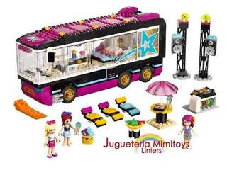 Bloques Pop Star Tour Bus Coleccion Friends Lego 41106