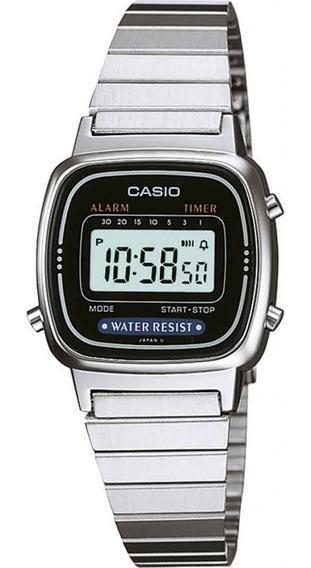 Relógio Casio Feminino Vintage La670wa-1df