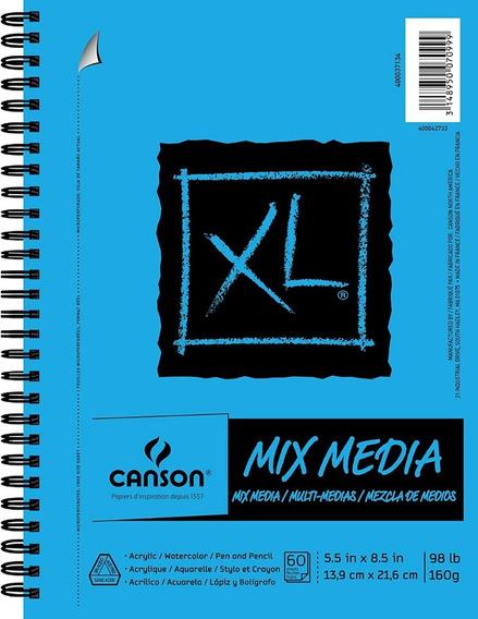 Canson Xl Mix Media Cuaderno De Dibujo Sketchbook 14 X 21cm