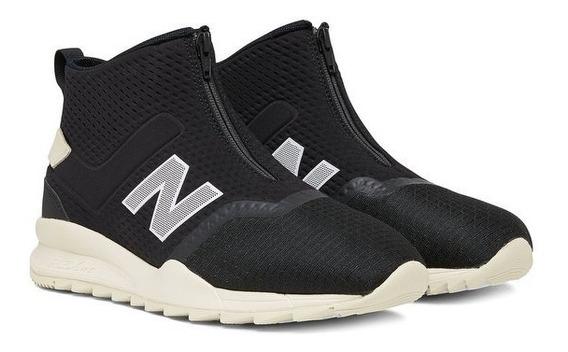 Tenis New Balance Sneakers 247 Mid Cut Ms247mca Black Widths