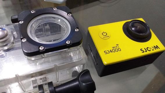 Camera Sjcam Sj4000 Com Defeito - Retirada De Peças