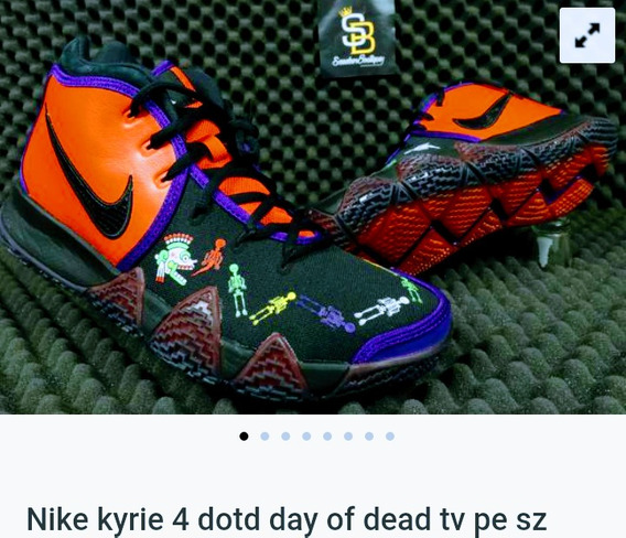 Tenis Nike Kyrie Irving Edición Día De Muertos