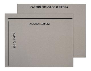 Pliegos De Cartón Pasta Dura Prensado O Piedra 70 X 100