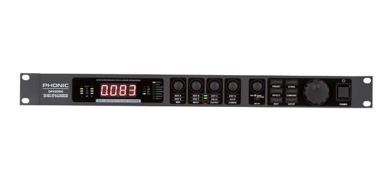 Processador De Efeitos Dfx2000 Midi - Phonic + Nf +garantia