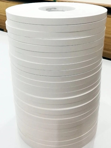Imagen 1 de 1 de Tapacanto Canto Pvc Bordes Blanco Mate 0.45x22 Mm Cocinas