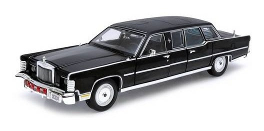 1972 Lincoln Continental Reagan - Limosine Yat Ming 1:24