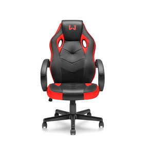 Cadeira Youtuber Warrior Racing Gamer Vermelho - Ga162