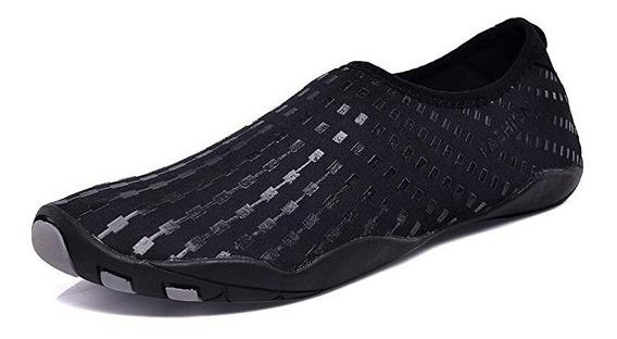 Zapato Acuático Mens Womens Beach Swim Shoes Quick-dry Aqua