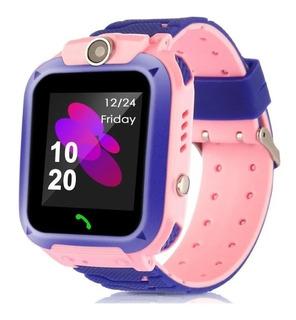 Relógio Smart Watch Infantil C/ Chip Gps Câmera Sos App Kids
